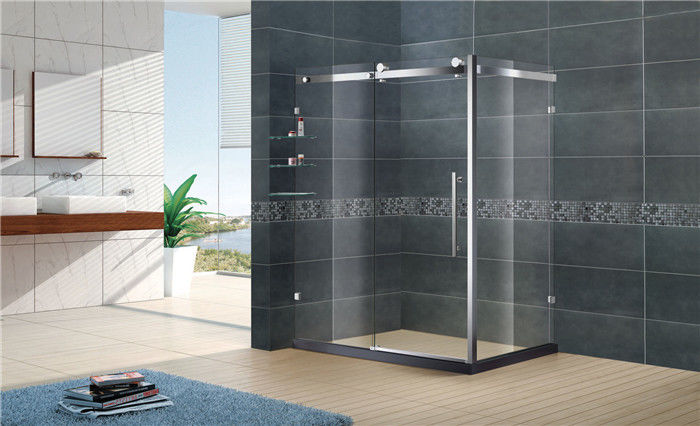 Customized Rectangular Shower Enclosure Stainless Steel Frame With SGCC Certification