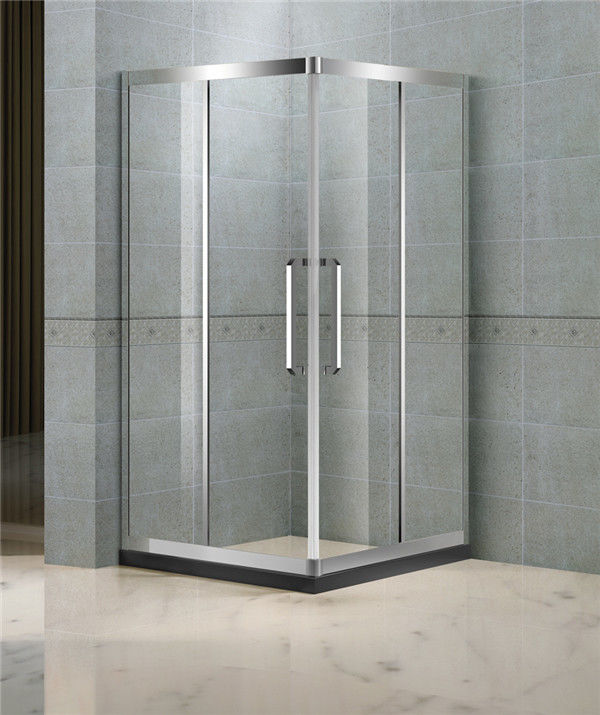 900x900 Square Glass Shower Doors Clear Tempered Glass CE / SGCC Certification