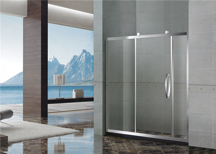 8 / 10 MM Mirror Color Shower Enclosures With Stainless Steel  Accessories for Home
